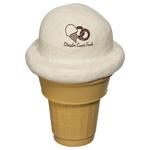 Cornet de crème glacée anti-stress