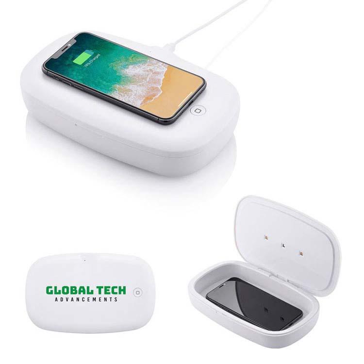 Désinfectant UV pour téléphone avec chargeur sans fil