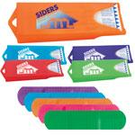 Distributeur coloré original avec des pansements à la mode