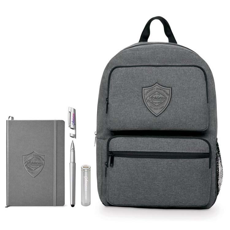 Ensemble-cadeau NeoSkin sac à dos avec double poche Business Smart