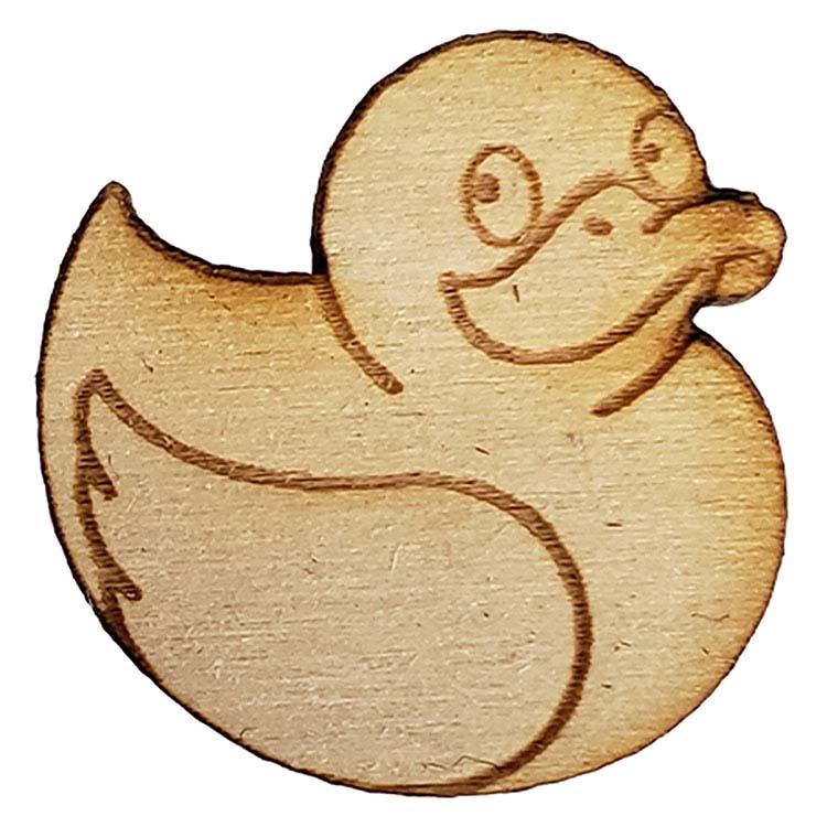 Épinglette en bois #3