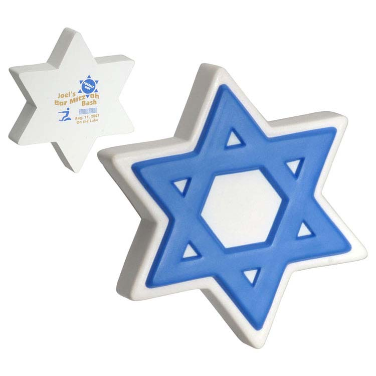 Star Of David Stress Reliever