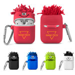 MopToppers Silicone Earbud Case with Carabiner