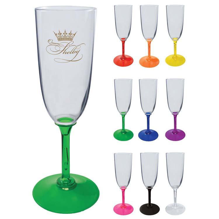 Flûte à champagne 7 oz en plastique
