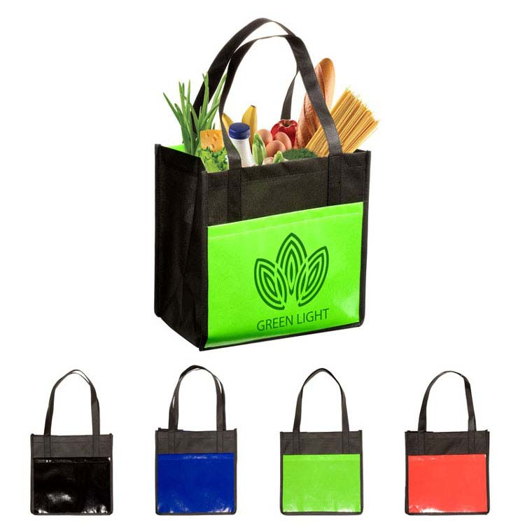 Fourre-tout Enviro-Shopper laminé