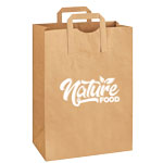 Large Recycled Grocery Bag with Handles