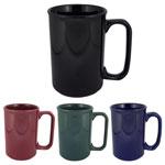 Tall Ceramic Coffee Mug 12 oz