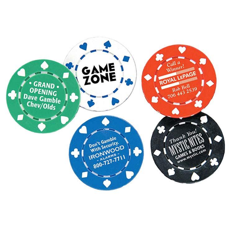 Jetons de poker de 11,5 grammes