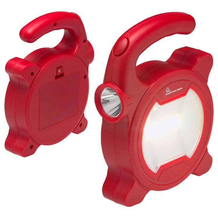 Lampe de travail à LED COB à double faisceau #4