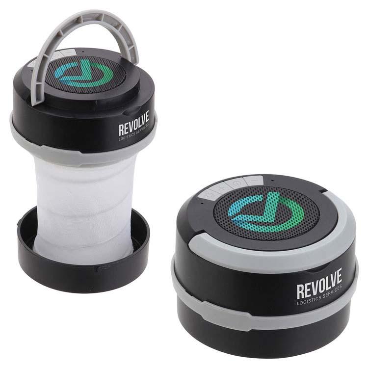 Lanterne pliable Revere et haut-parleur sans fil
