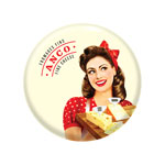 Pin Back Button 2-1/2""