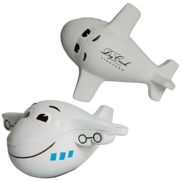 Mini avion souriant anti-stress