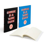 Scribl Notebook Mini Perfect Bound with Smooth Cardboard
