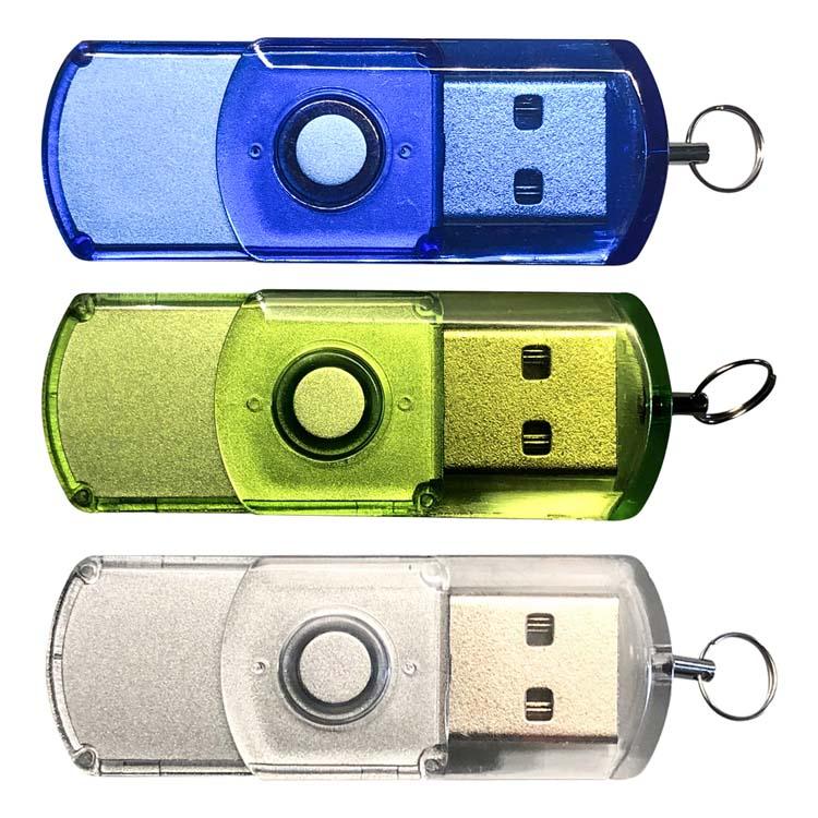 Mini clé USB pivotante