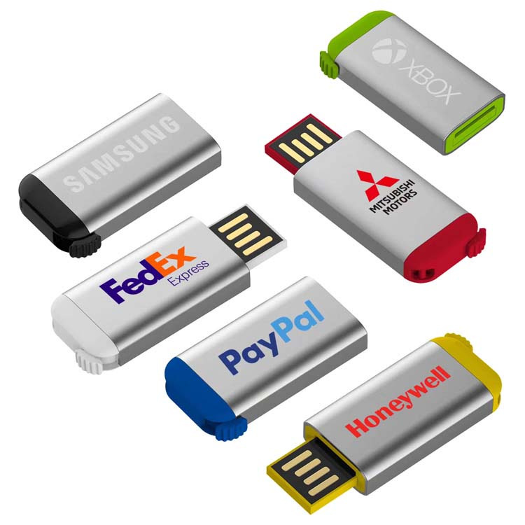 Mini clé USB rétractable