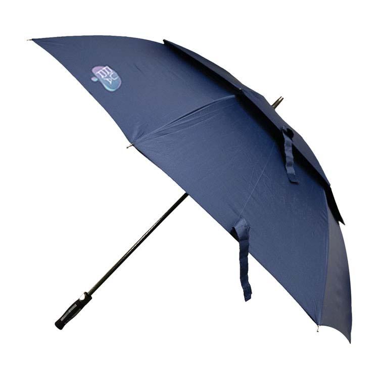 Parapluie de golf avec deux couches