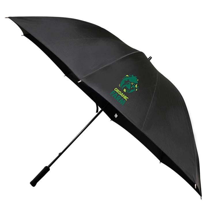 Parapluie de golf surdimensionné noir