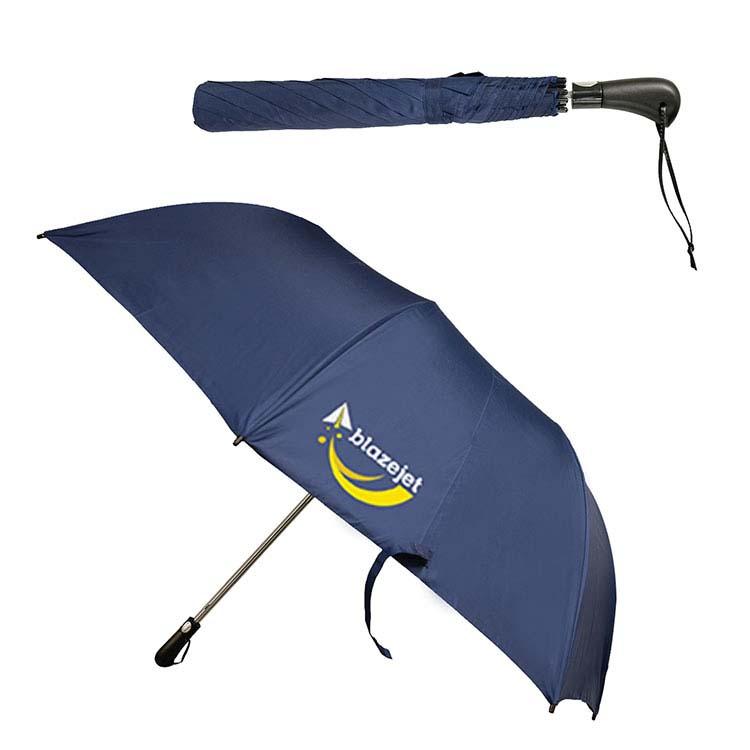 Parapluie pliant télescopique automatique