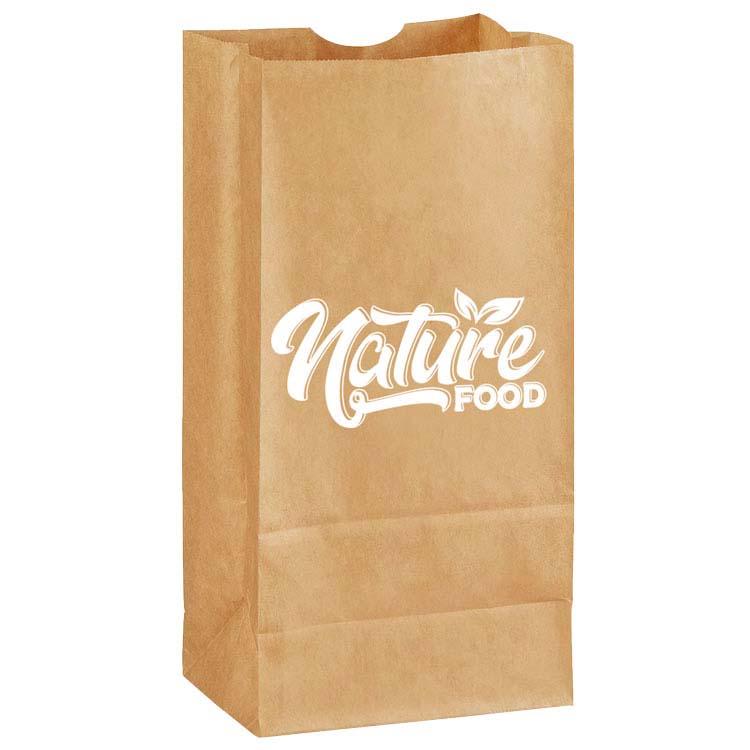 Petit sac d'épicerie recyclé
