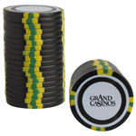 Stack of Casino Chips Stress Relieve