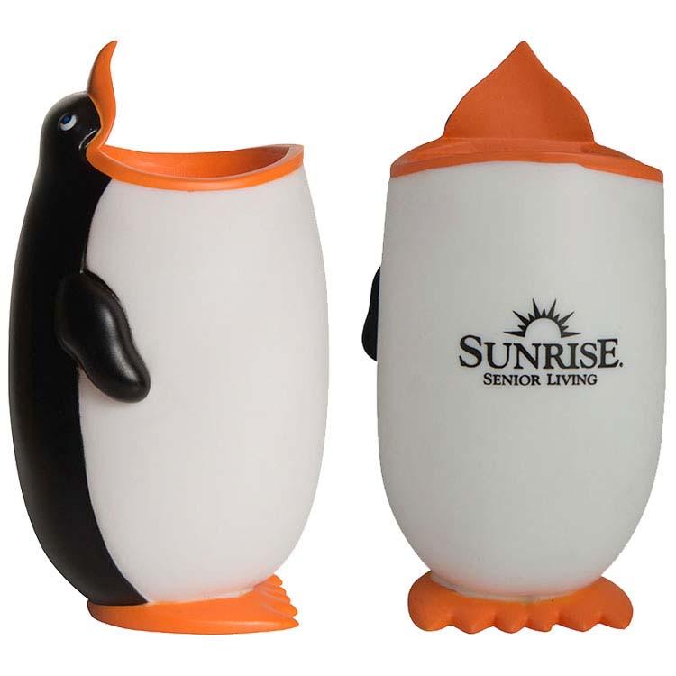 Pingouin porte-crayons