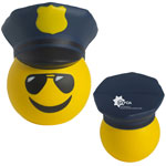 Policier Emoji anti-stress