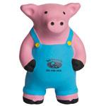 Farmer Pig Stress Reliever