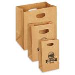 Kraft Paper Take-Out Bag