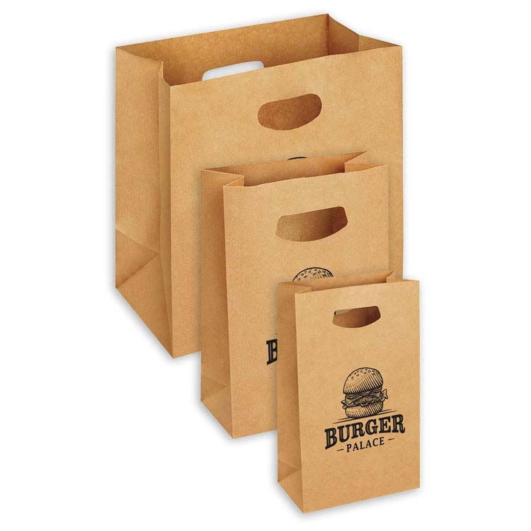 Kraft Paper Take-Out Bag