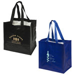 Tote Bag with Bottle Compartments