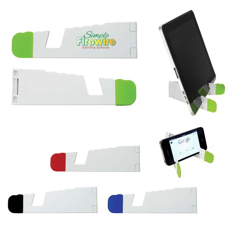 Support pliable en V pour tablette et téléphone