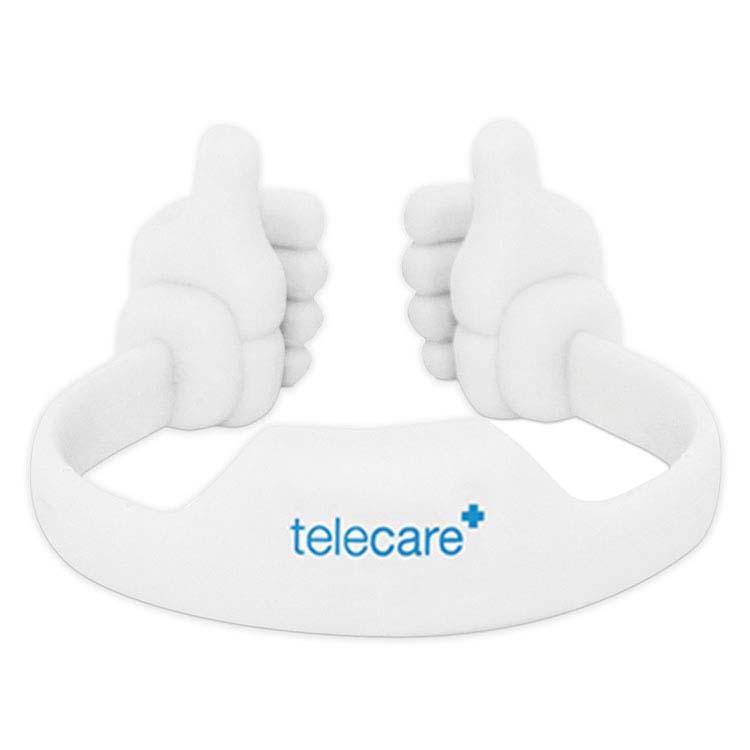 Support pouce en l'air pour téléphone ou tablette