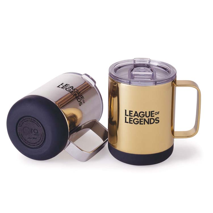 Tasse Mean Muggin' Luxe Metallic 12 oz en acier inoxydable #2