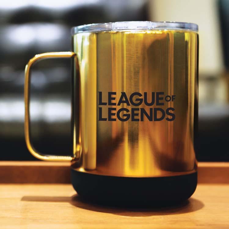 Tasse Mean Muggin' Luxe Metallic 12 oz en acier inoxydable #4