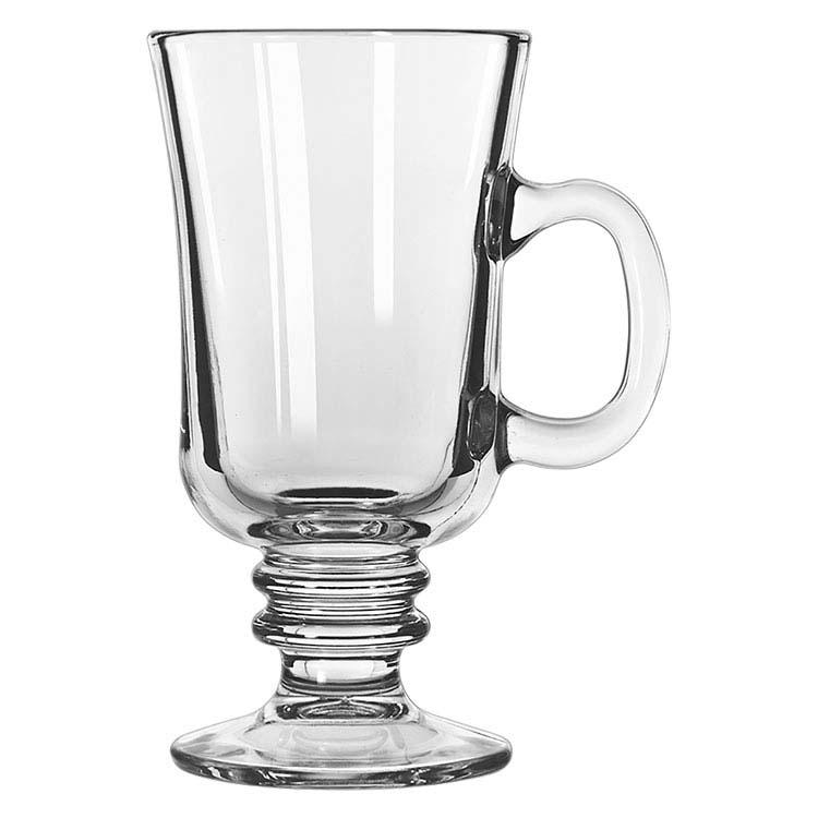 Tasse à café Irlandais en verre 8.5 oz