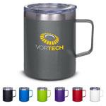 12 oz Vacuum Insulated Coffee Mug with Handle