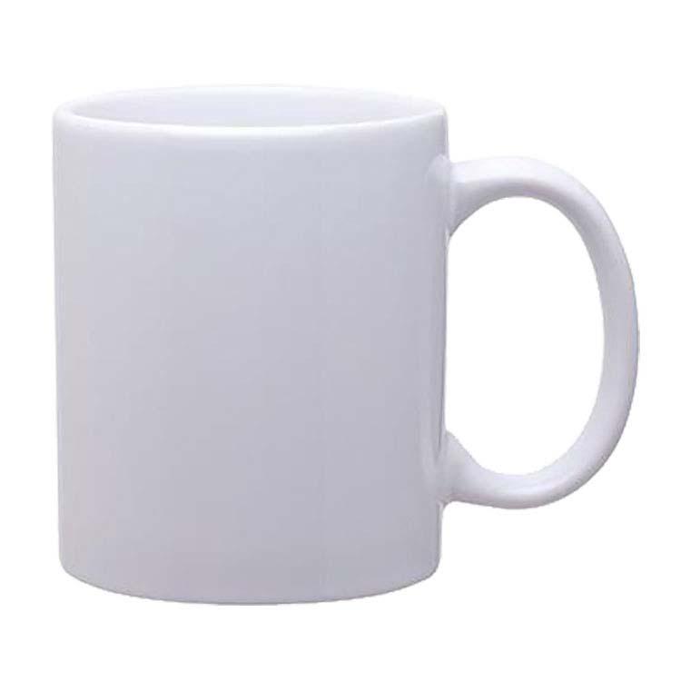 Tasse en céramique avec poignée en C 11 oz