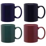 Solid Colour Ceramic Coffee Mug 11 oz