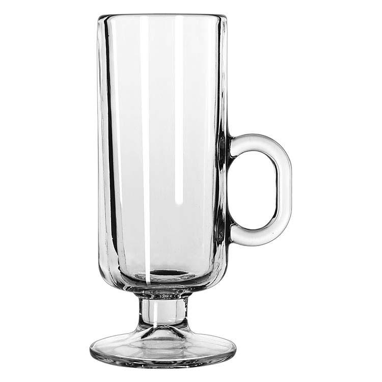 Tasse en verre de café irlandais 8 oz