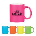 11 oz Neon Mug With C-Handle