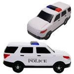 Police white SUV Stress Reliever