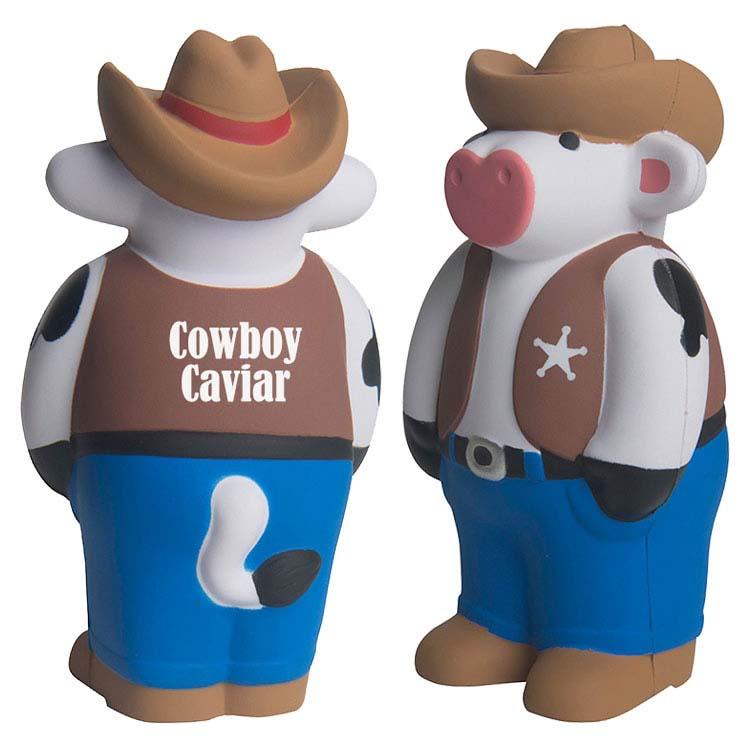 Vache Cowboy anti-stress