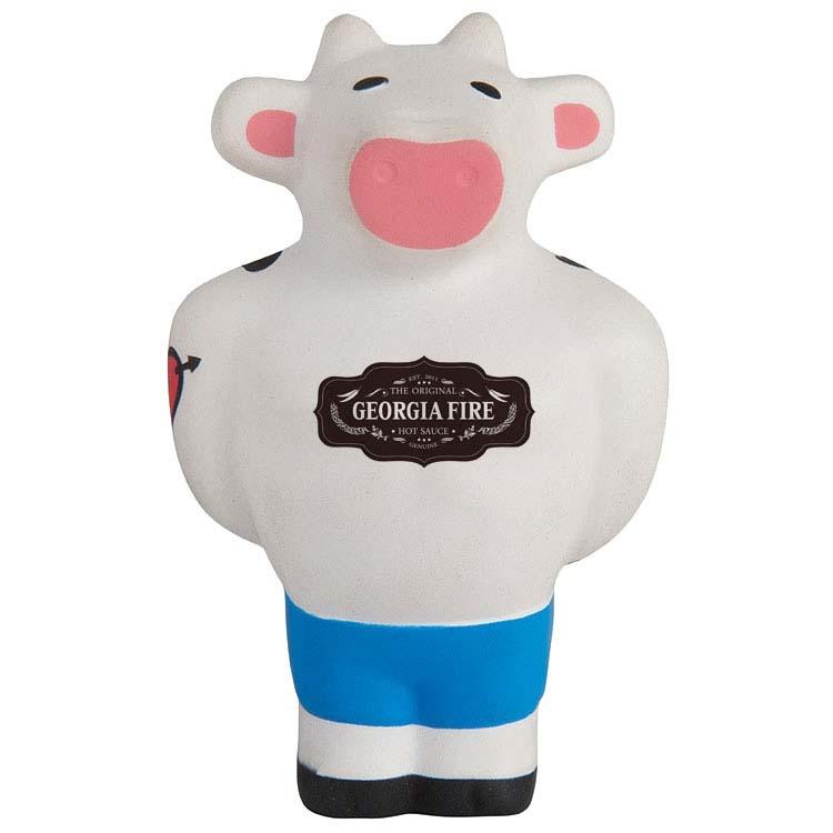 Vache musclée anti-stress
