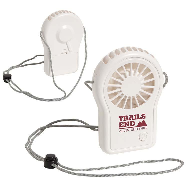 Ventilateur portable Cool Breeze avec cordon ajustable