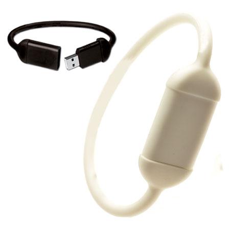 Bracelet USB personnalisable en silicone