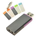 Clé USB avec capuchon de couleur