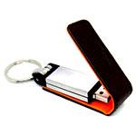 Clé USB avec rabat en cuir