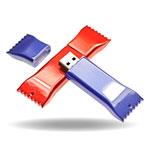 Clé USB bonbon