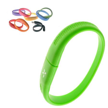 Clé USB bracelet en silicone