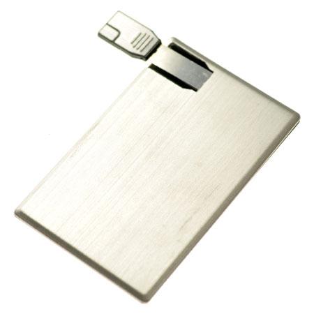 Carte de crédit USB en aluminium